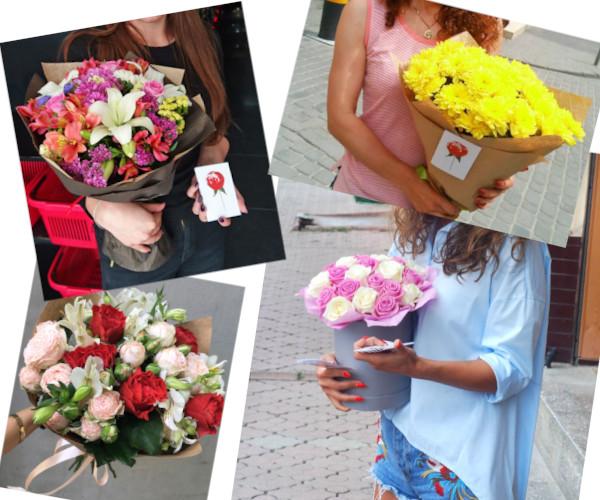 Фото з доставки квітів