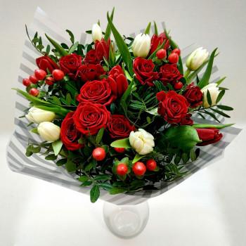 Букет Червоні ягоди