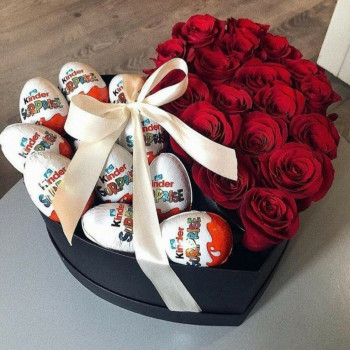 Box surprise rose